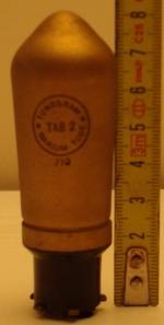 TAB2 Tungsram 5 broches Hauteur 81 mm Diamètre 28 mm