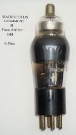 Radiofotos Gramont H, Diamètre 38mm, Hauteur 107.5mm sans pins