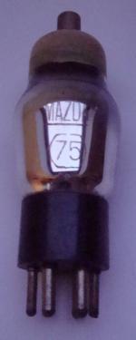 75 MAZDA 6 pins Hauteur 110mm avec pins Diamètre 38mm