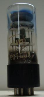 6AF7 NEOTRON 8 pins Hauteur 90mm avec pins Diamètre 29mm