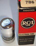 7B6 RCA 8 pins  Hauteur 62 mm Diamètre 29 mm