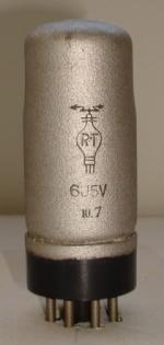 6J5V RT 7 pins Hauteur 80 mm Diamètre 29 mm