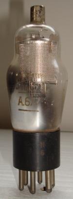 A677 VISSEAUX Radio 6 pins Hauteur 112 mm Diamètre 38 mm