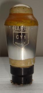 CY1 DARIO 8 broches Hauteur 99 mm Diamètre 42 mm