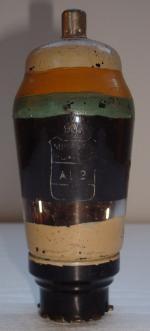 AL2 Miniwatt Hauteur 113 mm Diamètre 45 mm