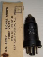 6B8 RCA Hauteur 75 mm Diamètre 25 mm