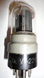 KEN-RAD U.S.A. Also labelled 6SL7GT in octagon etching.