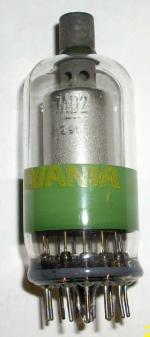 1970 Sylvania High voltage rectifier tube 1AD2 from my collection