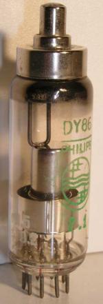 Philips  Noval  9 pin   1 thick Poids : 14.3 grammes Hauteur : 7.3 cm (avec pin   thick) Diamètre : 2 cm