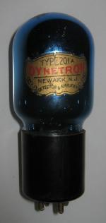 dynetron 201 a tubolar, colore intenso blu senza trasparenze.