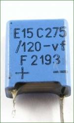 11x14x5mm, blaues Kunststoffgehäuse