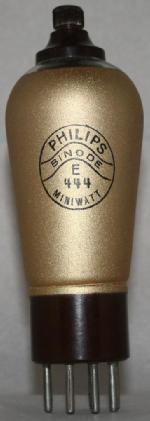 E 444 Philips Eindhoven tubes international NL