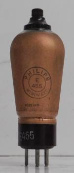 Philips E455 with UY 5-pin base.