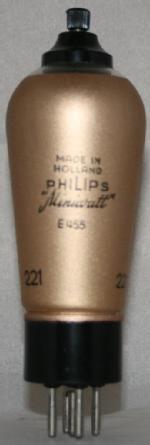 E 455 Philips Eindhoven tubes international NL