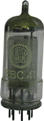 EBC41 von Valvo; Zweifachdiode-Triode
