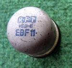 RFT-Röhre (VEB - E) mit Glaskolben.
