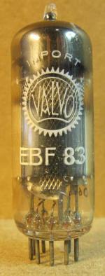EBF83 Valvo Import