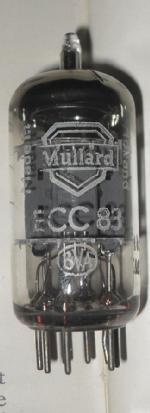 made in Holland ecc83 tube has 4 lines on the pinch patten