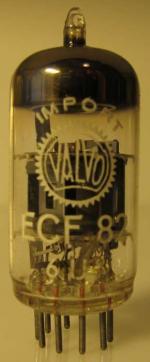 ECF82 Valvo Import  6U8