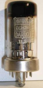 Miniwatt Dario  Loctal 8 pin Poids : 30.3 grammes Hauteur : 7.6 cm Diamètre : 3.1 cm