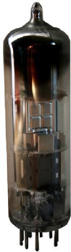 Endröhre ECL86 von Siemens, verwendet im Modell Saba Lindau 18.