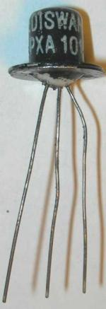 A late 1950s Ediswan XA101 Germanium transistor
