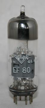 EF 80 Common type tubes/semicond EU