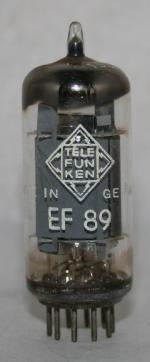EF 89 Common type tubes/semicond EU