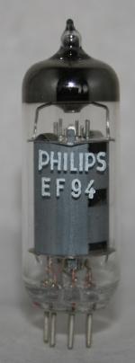 EF 94 Common type tubes/semicond EU