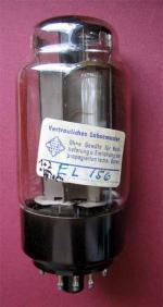 Ein Exemplar 'Vertrauliches Labormuster' der TELEFUNKEN-Werke