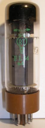 RT  Octal  8 pin Poids : 46 grammes Hauteur : 10.9 cm Diamètre : 3.2 cm