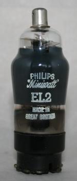 EL 2 Philips Eindhoven tubes international NL