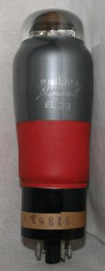 EL 33 Common type Europe tube/semicond EU