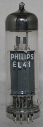 EL 41 Common type Europe tube/semicond EU