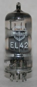 EL 42 Common type Europe tube/semicond EU