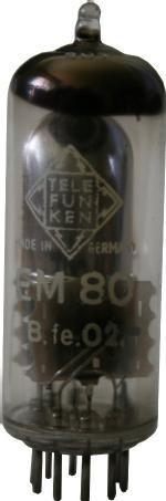Magischer Fächer EM80 von Telefunken