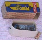 Welche Verpackungstricks haben sich die Hersteller doch einfallen lassen, um zu verhindern, dass eine schon benützte Röhre nicht als Neuware verkauft werden konnte.