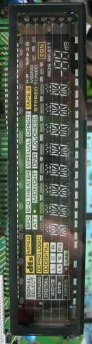 Afficheur du VSX-808RDS de Pioneer