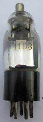 A British 11D3 valve