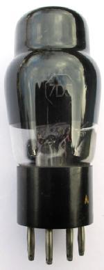 A Brimar 7D5 valve