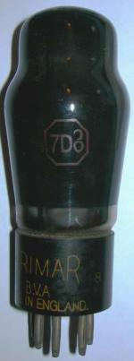 A Brimar 7D8 valve