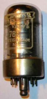 A Cossor 7B7 valve