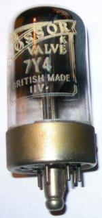 A Cossor 7Y4 valve
