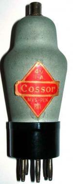 An original Cossor MVS-PEN 7 pin valve.