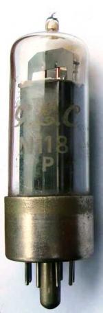 A GEC N118 valve