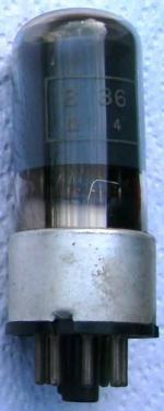 A British made Marconi B36 valve