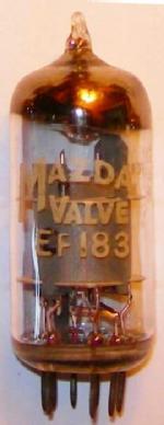 A Mazda EF183 valve