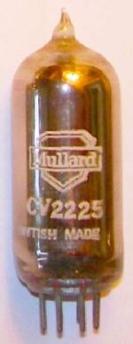 A Mullard CV2225 valve