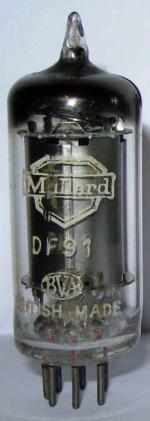 Mullard DF91 valve.