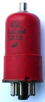 A short Mullard DK32 .
